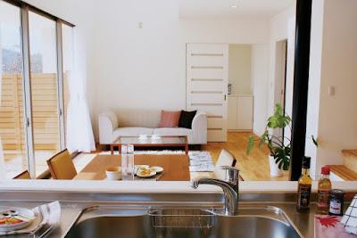 住宅とキッチンのイメージ