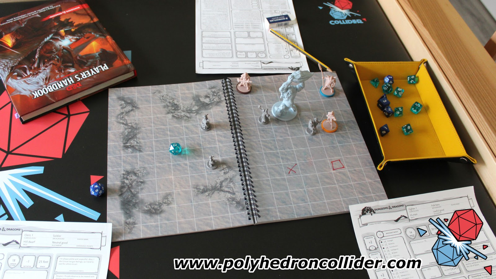 D&D dry erase The Big Book of Battle Mats Review