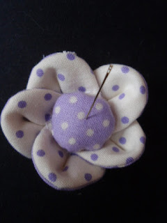Mini Pincushion - The Flashing Scissors