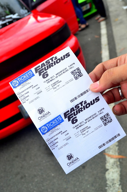 FAST AND FURIOUS 6: MANILA PREMIERE