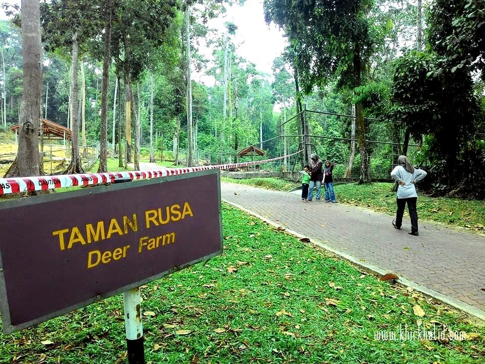 Taman Rusa, Taman Botani Negara