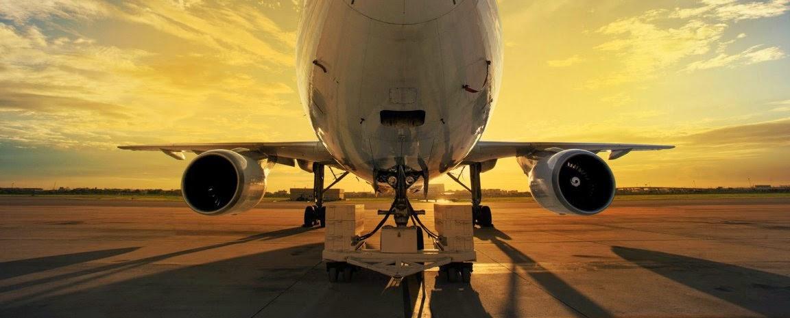 Transporte aereo y mercancias