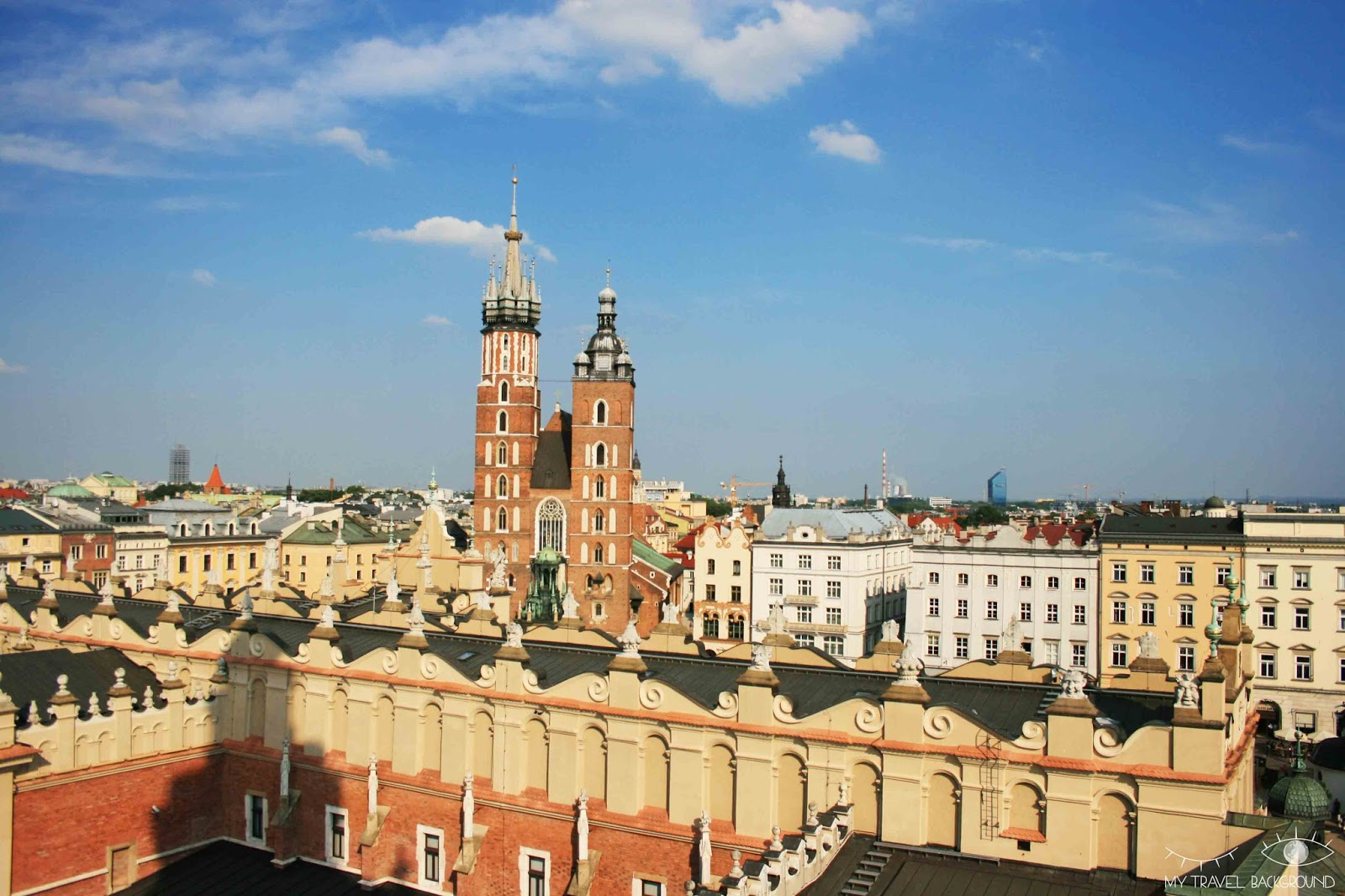 My Travel Background : cartes postales de Pologne - Cracovie