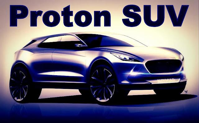 Model Baru Proton SUV