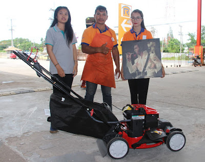 Buriram lawn mower dealer with Troy Bilt self propelled in stock