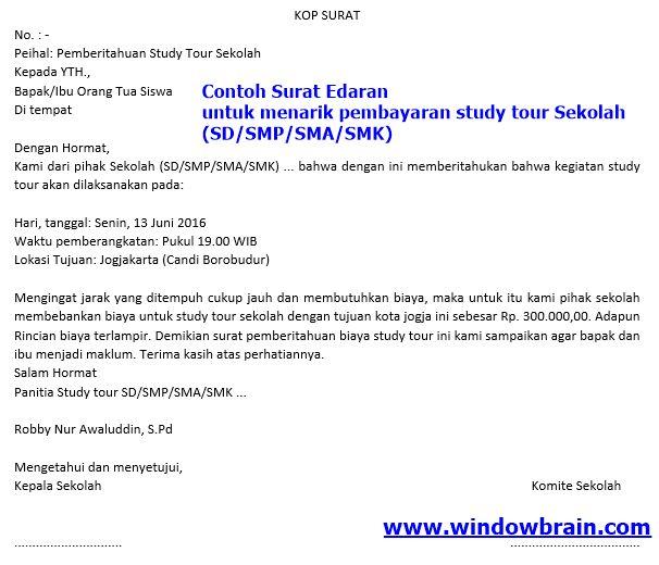 Proposal Study Tour SMA Negeri 36 Jakarta Timur ...
