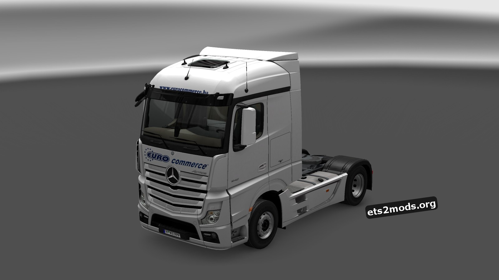 Euro Commerce Skin for Mercedes MP4