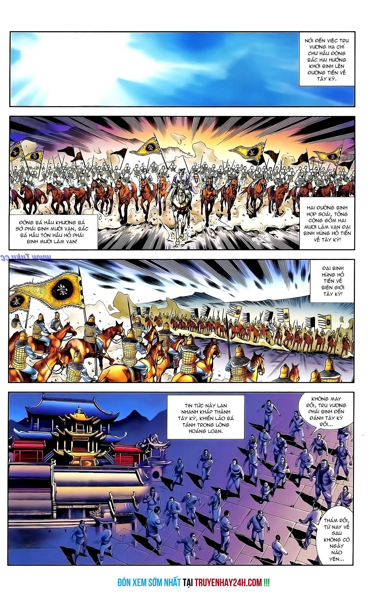 Cơ Phát Khai Chu Bản chapter 131 trang 28