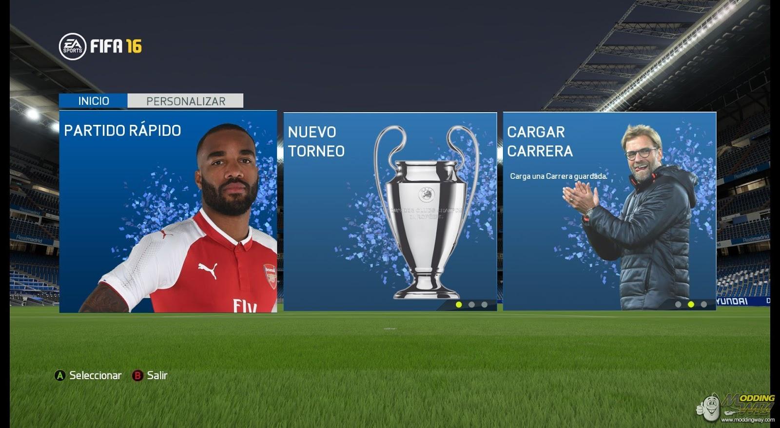 FIFA 16 ModdingWay Mod Update 18.0.2 Season 2017/2018 ...