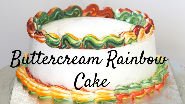 Rainbow Cake - How to make Best Rainbow Cake - Rich's Butter Creme