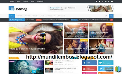 Free New SEO Blogger Templates 2016