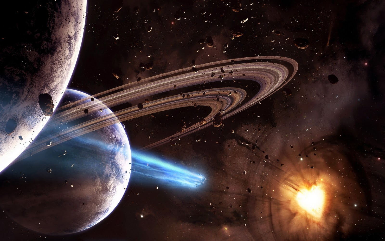 Nature's Best: Outer Space Wallpapers