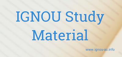 download ignou study material