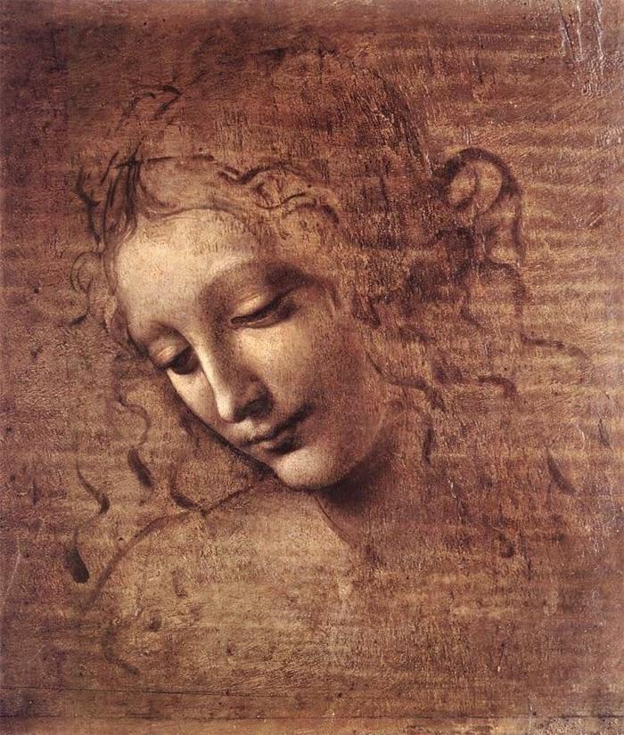 Senhora com Cabelo Despenteado - Leonardo Da Vinci | O maior artista de todos os tempos
