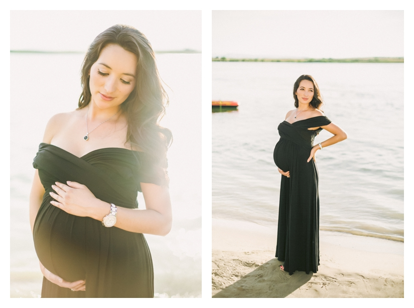 oregon maternity photography, beach couples shoot