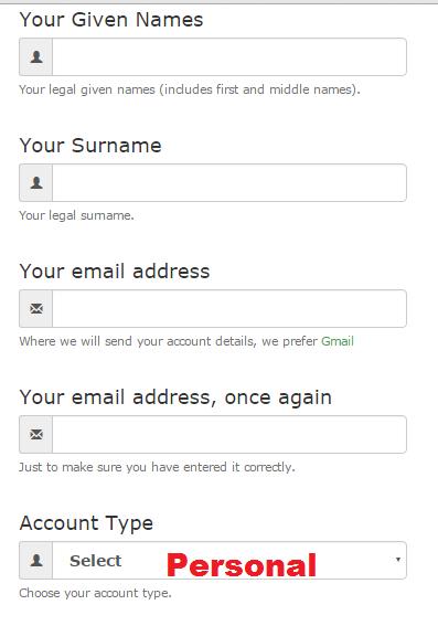 register in Merchant Shares