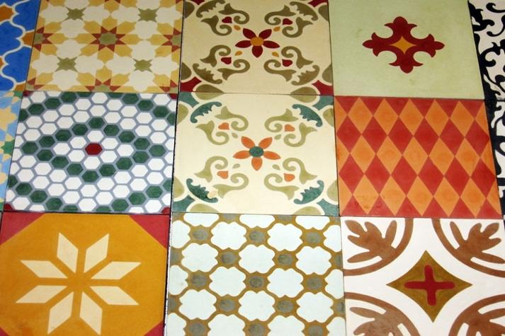 Ladrilhos na decoração de pisos e revestimentos