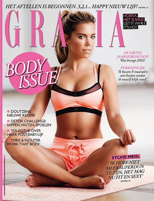 Television Personality, Model, @ Sylvie Meis - Grazia Netherlands, January 2016