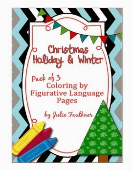 http://www.teacherspayteachers.com/Product/Christmas-Holiday-Winter-Coloring-by-Figurative-Language-3-Pack-450474