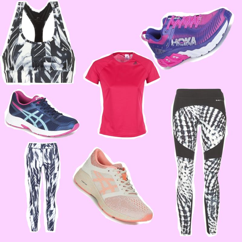 shopping pour courir au printemps, la reprise du running