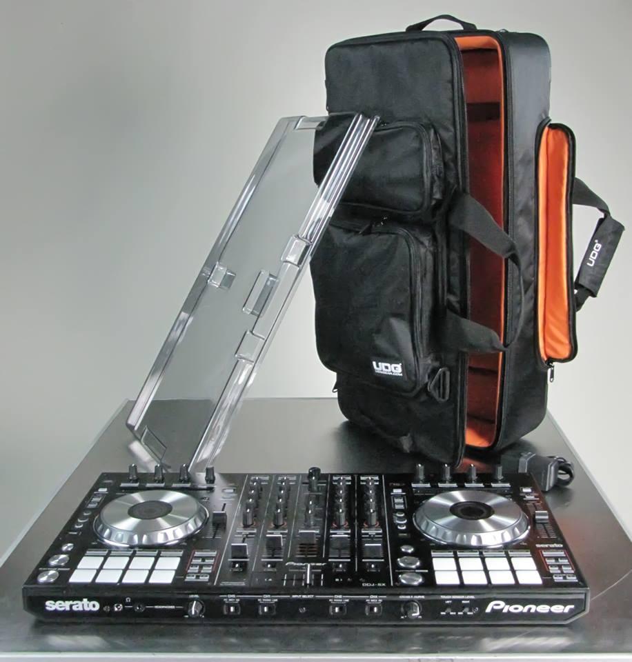 dj magic pioneer ddj sx controller bag and dust cover 1000. Black Bedroom Furniture Sets. Home Design Ideas