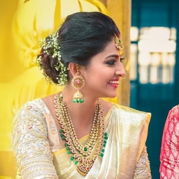 Actress Sneha Latest Jewelry Designs
