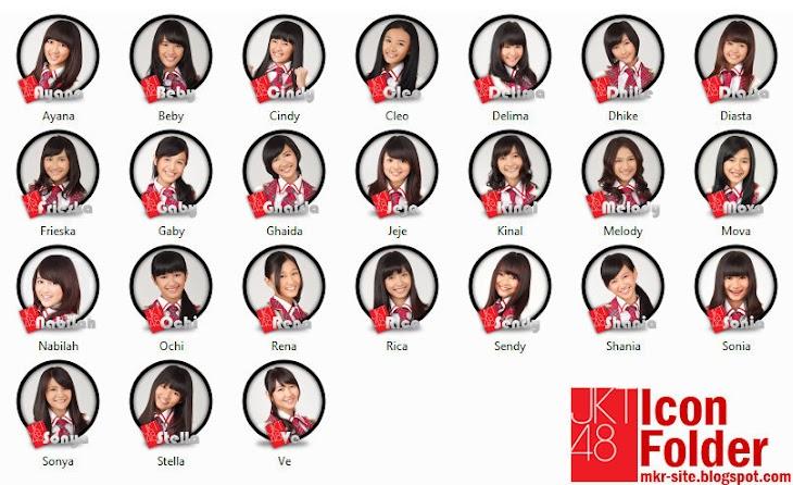Icon Folder JKT48 All Member by MKR
