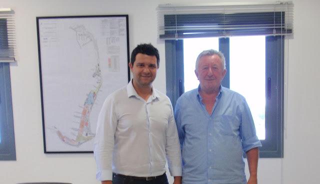Επίσκεψη του Βουλευτή ΣΥΡΙΖΑ Θεσπρωτίας κ. Μάριου Κάτση στον Ο.Λ.ΗΓ.