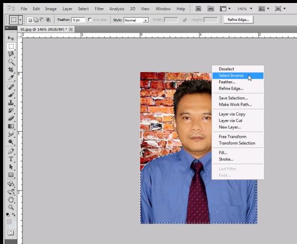 Cara Mengganti Background Dan Edit Pas Foto Menggunakan ...
