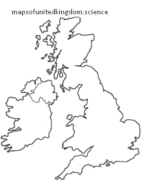 maps of uk quiz printables