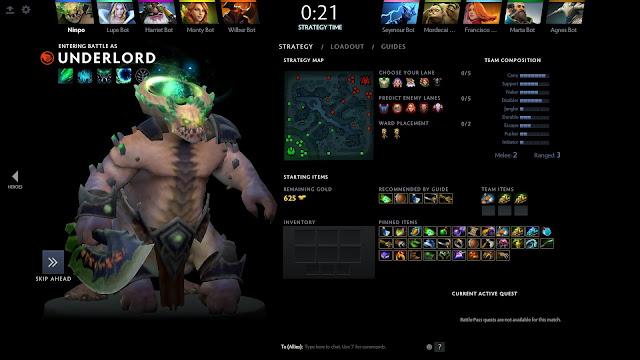 DOTA 2 OFFLINE NEW PC Free Download Screenshot 3