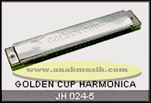 Harmonika Golden Cup JH024 Copper