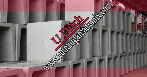 Harga U Ditch Jakarta Utara dan Tutup Cover U Ditch Murah ...