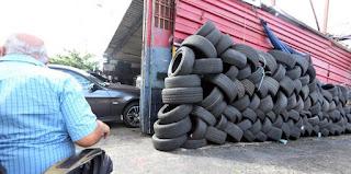 PN detiene a hombre acusado por comerciantes de robo de 210 neumáticos