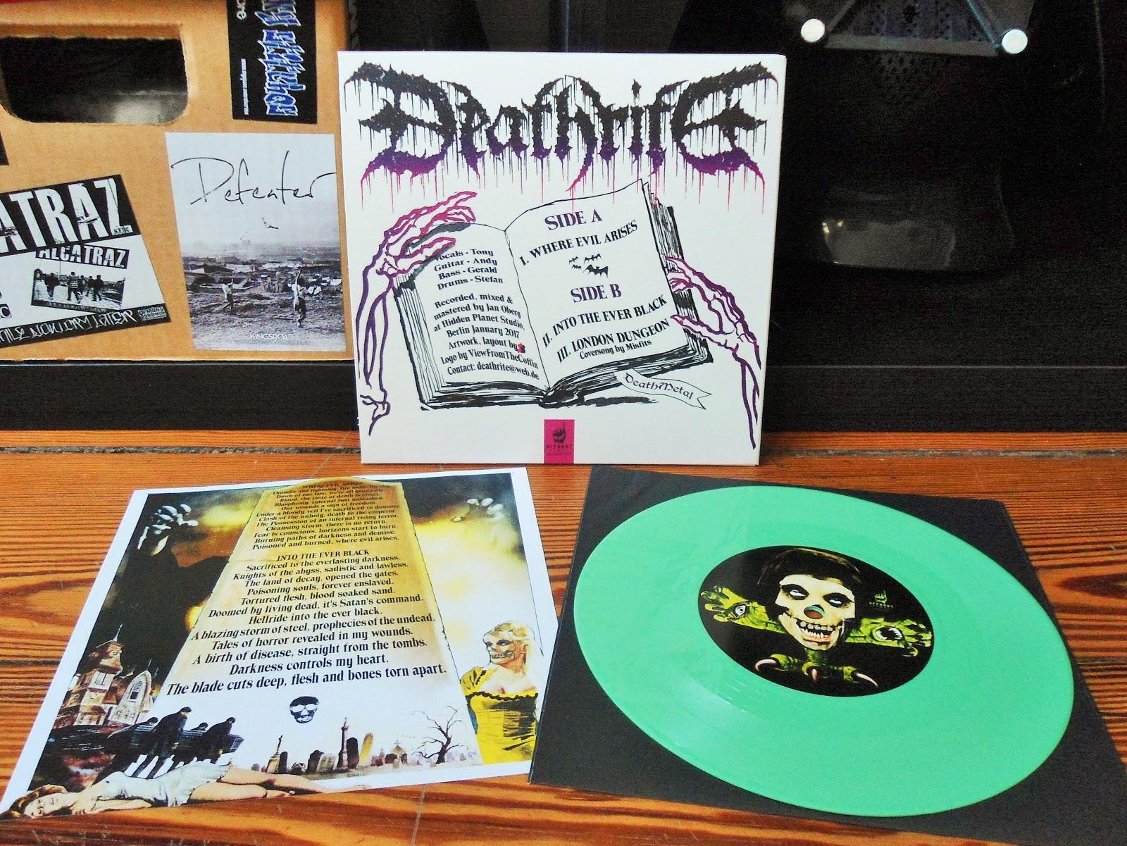 Hardcoremetal Vinyl Deathrite  Where Evil Arises