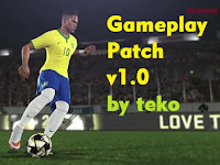 PES 2016 TeKo Hard Gameplay Patch