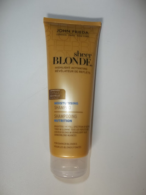 Shampooing Nutrition Sheer Blonde Blonds Foncés - John Frieda