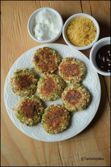 Broccoli Paneer Cutlet