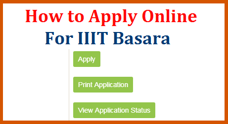 IIIT Basara Application Submission Online and Fee Payment Process explained here in the simplifying manner for the Students and to their parents. Detailed step by step process on How to Apply Online for Under Graduate Programme from RGUKT Rajive Gandhi University of KnowledgeTechnologies which is well known as Basara IIIT Admissions. How to Pay Fee Online for IIIT Basara Admission Application Form know here how-to-pay-fee-apply-online-form-submission-for-rgukt-iiit-basara-process
