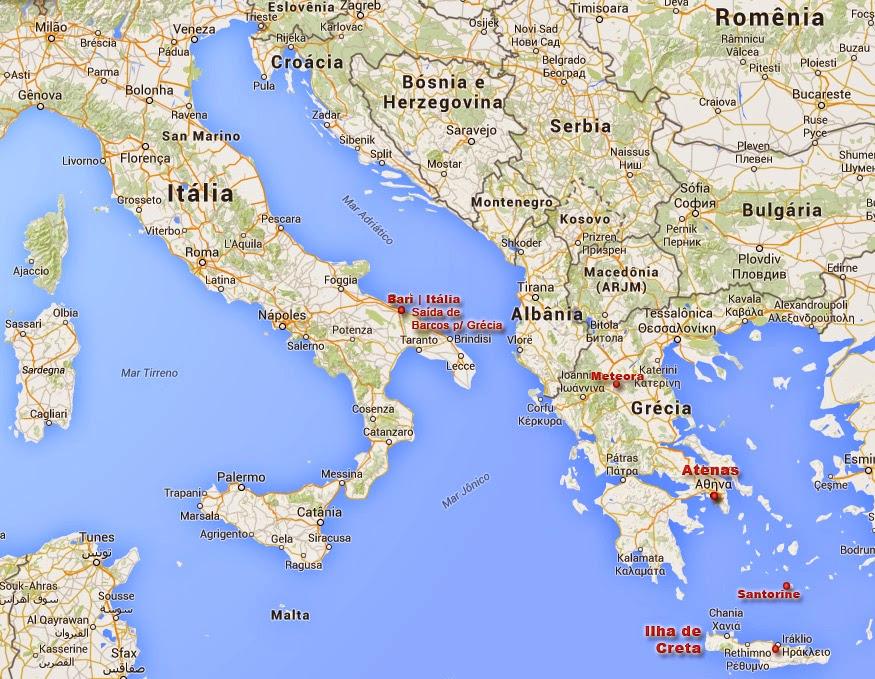 mapa da grecia e suas ilhas Grécia | Cidades e Ilhas Imperdíveis mapa da grecia e suas ilhas