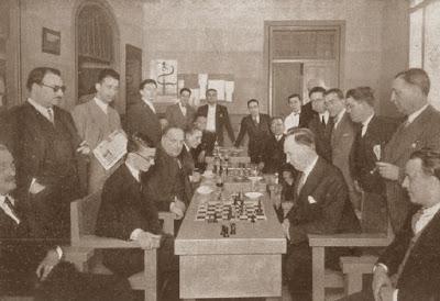 Partida de ajedrez Dr. Ramón Rey Ardid  vs. Manuel Golmayo, Campeonato de España 1930