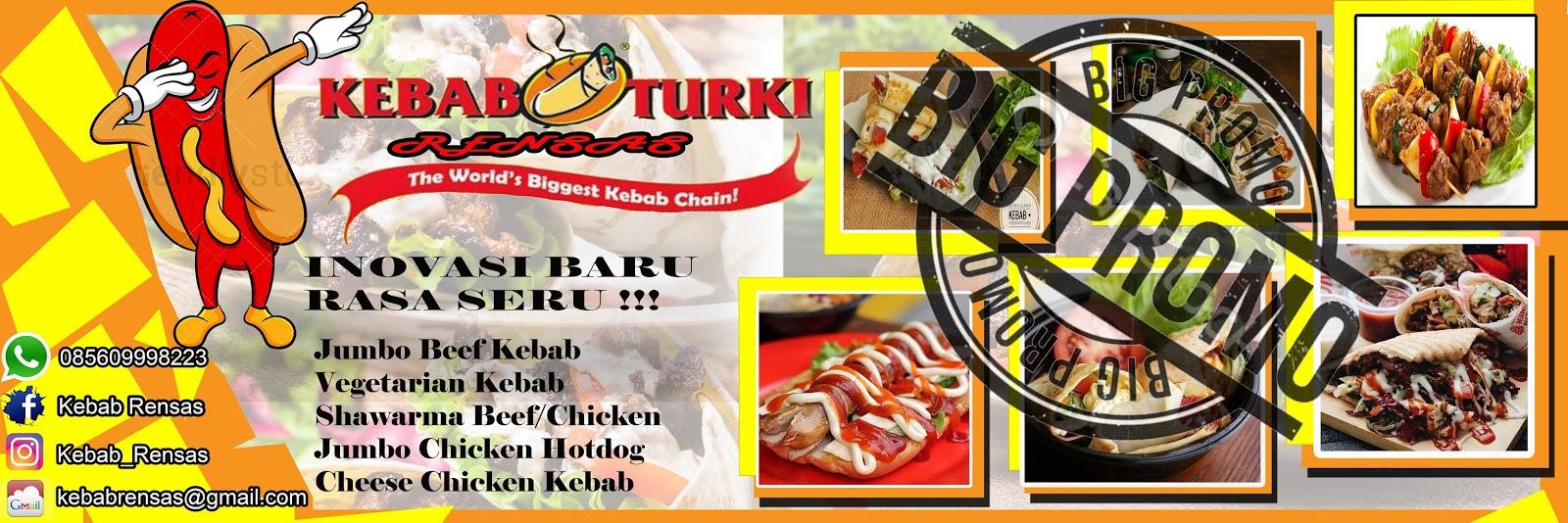 Desain Spanduk Kebab - desain spanduk keren