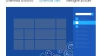 Cambiare schermata Start in Windows 8 aspetto, colori e opzioni