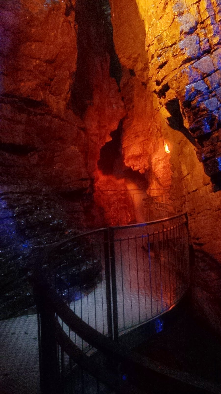 The lower cave of Cascata del Varone