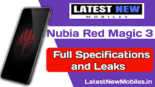 Nubia Red Magic 3 full Specifications
