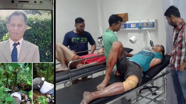 Akhirnya 5 Pelaku Perampokan & Pembunuhan Justinus Sinaga Ditangkap Polisi, 3 Ditembak di Bagian Kaki