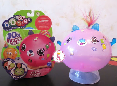 Розовая кошка Oonies надувная игрушка для детей