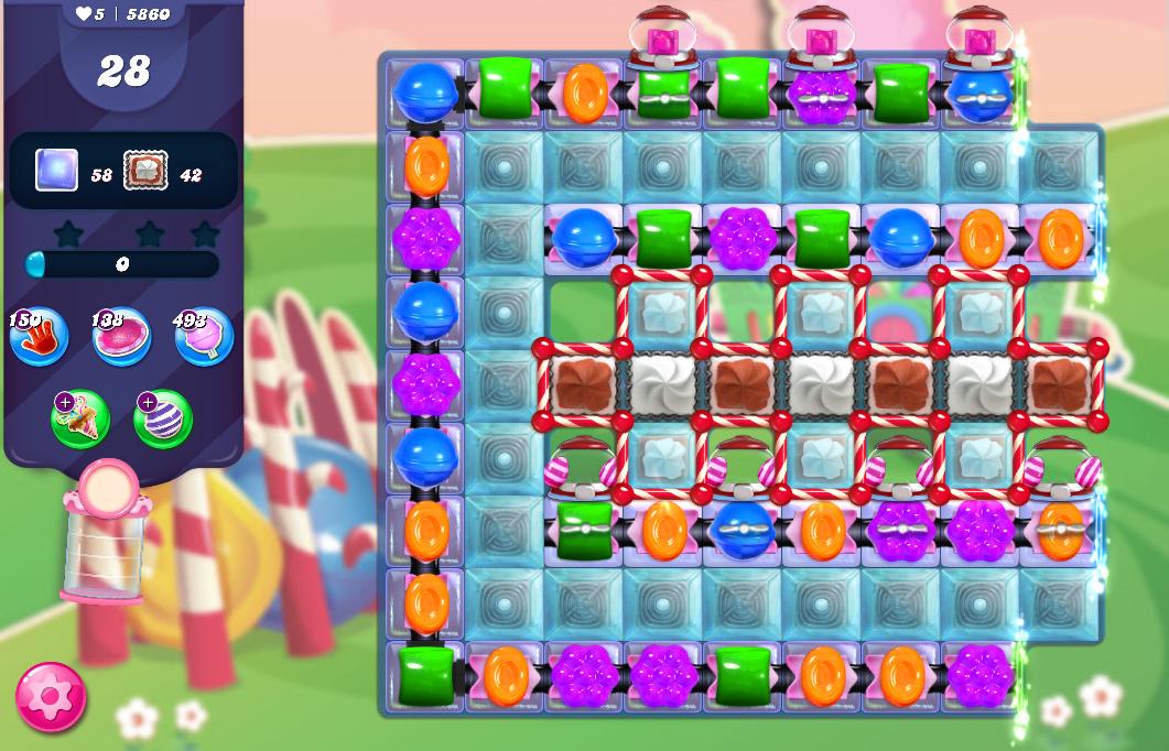 Candy Crush Saga level 5860