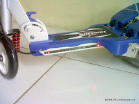 2 Skuter Dual Pedal DoesBike S372 Musik Angry Bird dan Lampu