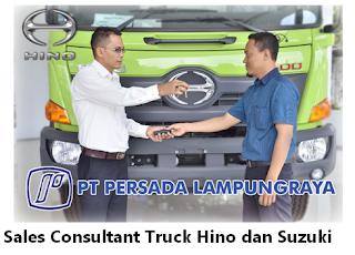 Walk In Interview di HINO & SUZUKI (PT. Persada Lampung Raya) Terbaru Juli 2018